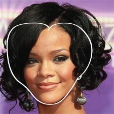 Heart Face Shape | Heart Shape Face Celebrities