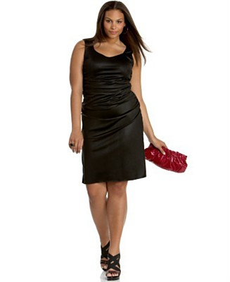 Size Black Dress on Clothing  Wholesale Plus Size  Women Plus Size  Fashion Plus Plus
