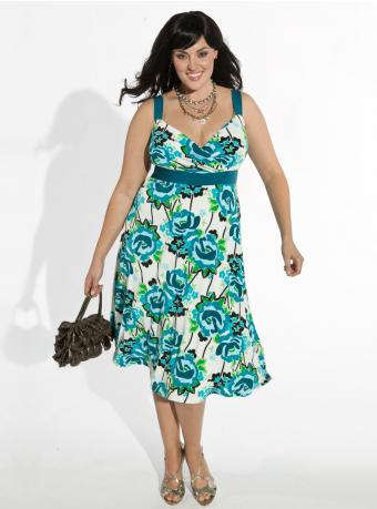 Dress on Sun Dress Plus Size Floral Jpg