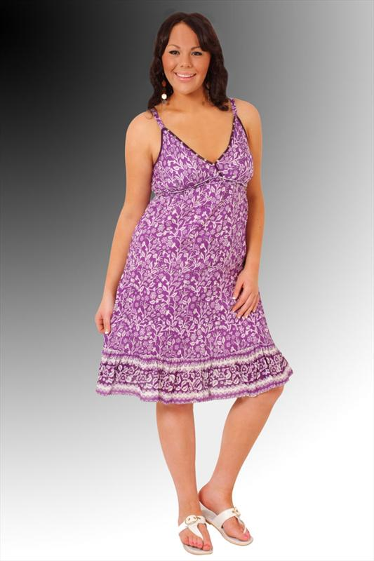 Womens Plus Size Sun Dresses 107